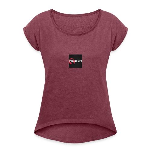 pro gamer magliette maglietta da uomo - Maglietta da donna con risvolti