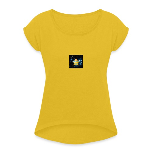 Logo Janvier-Juin 2017 de StarStudio LeLive ! - T-shirt à manches retroussées Femme