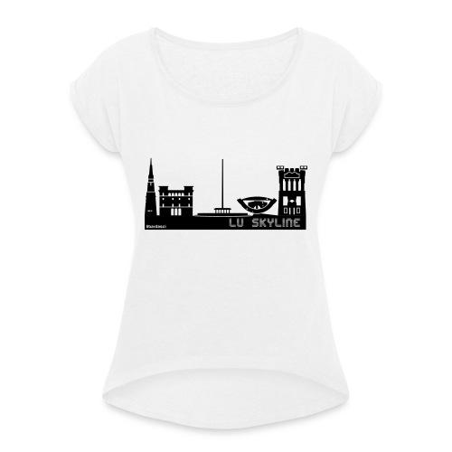 Lu skyline de Terni - Maglietta da donna con risvolti