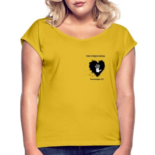 Heartstopper EP - Women's T-Shirt with rolled up sleeves