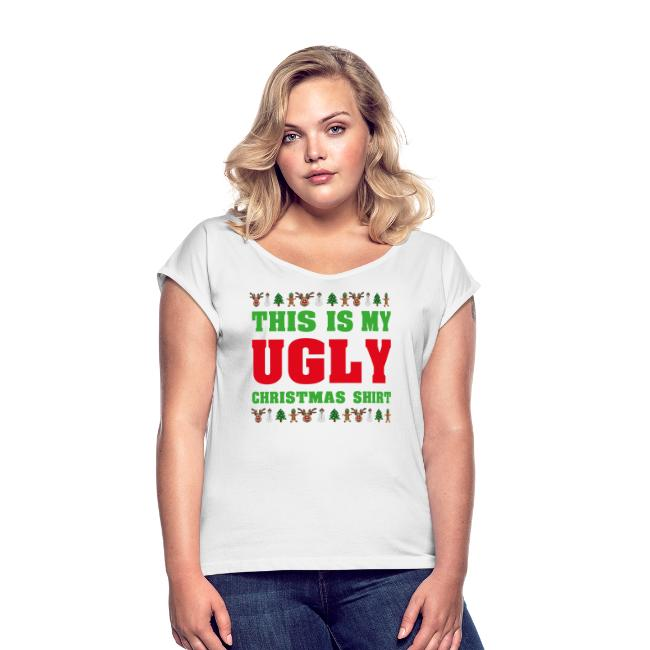 This is my Ugly Xmas Shirt