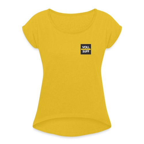 Hauptsaison - Frauen T-Shirt mit gerollten Ärmeln