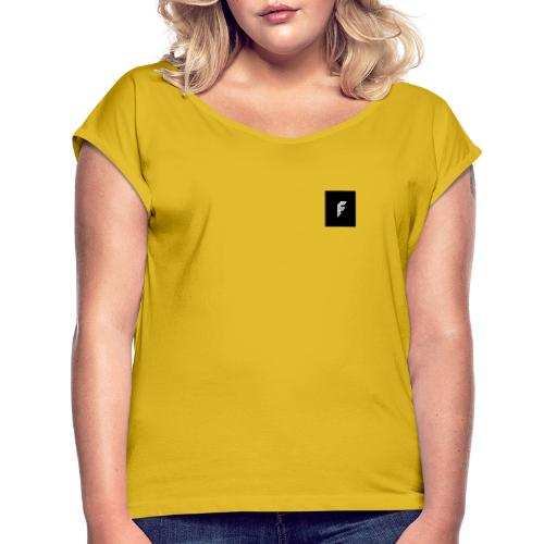 |F| fusion_voodoo - Women's T-Shirt with rolled up sleeves