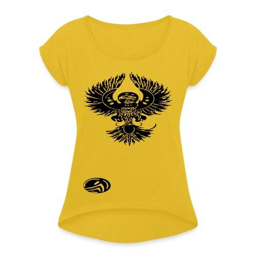 phoenix - T-shirt à manches retroussées Femme