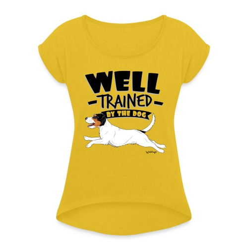 parsonwell8 - Women's T-Shirt with rolled up sleeves