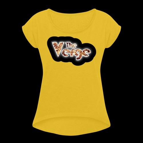 logo TheVerge Million Years - T-shirt à manches retroussées Femme