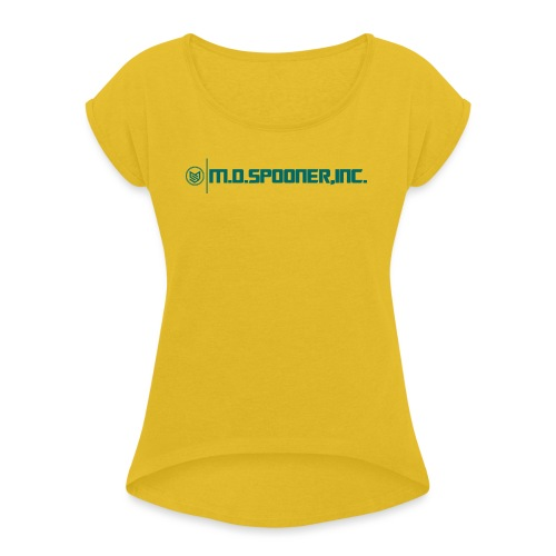 M.D.Spooner Classic - Women's T-Shirt with rolled up sleeves