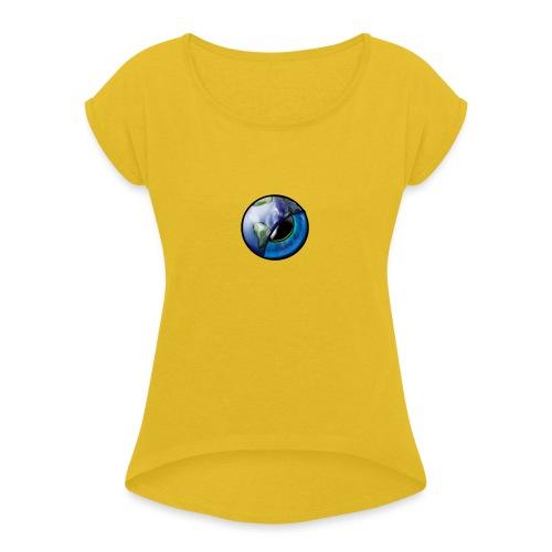 eye world - Maglietta da donna con risvolti