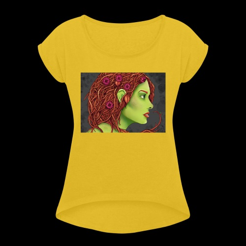 Ivy - Women's T-Shirt with rolled up sleeves