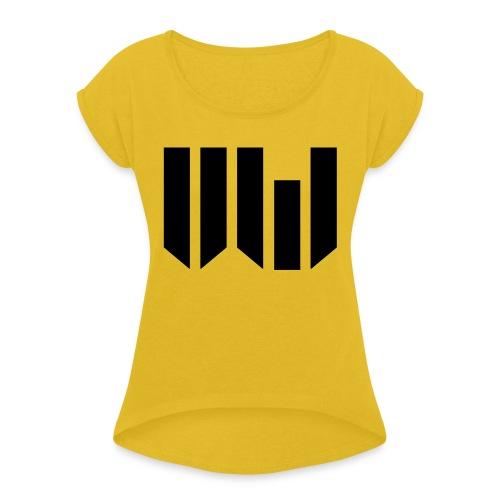 Juste Logo UW - T-shirt à manches retroussées Femme
