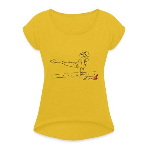 TRAVE - Maglietta da donna con risvolti