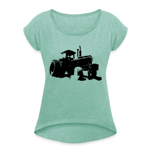 JD4840 - Women's T-Shirt with rolled up sleeves