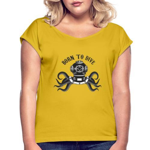 DIVE SOMMOZZATORE - Maglietta da donna con risvolti