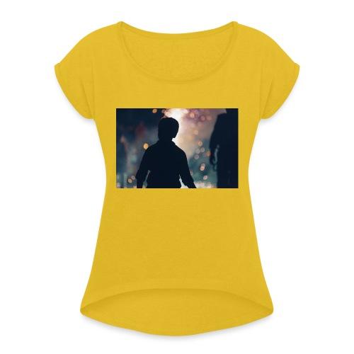 Into the unknown t-shirt - Maglietta da donna con risvolti