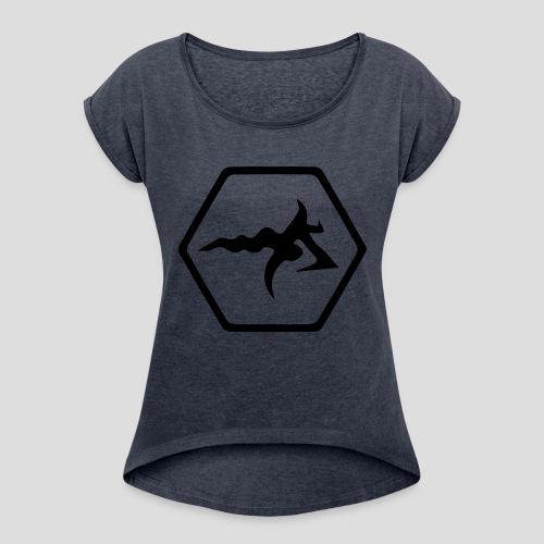 AmericanBilly - Maglietta da donna con risvolti