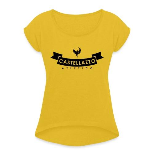 Elegante - Maglietta da donna con risvolti