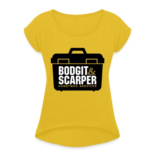 Bodgit & Scarper - Women's T-Shirt with rolled up sleeves
