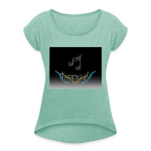 trance_wallpaper_by_peixotorj-jpg - Dame T-shirt med rulleærmer