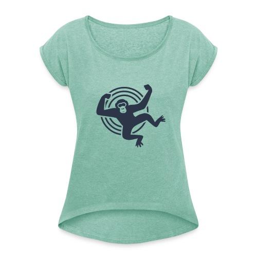 Psychedelic Ape - Gordo collection - Maglietta da donna con risvolti