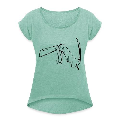 jacknife - Maglietta da donna con risvolti