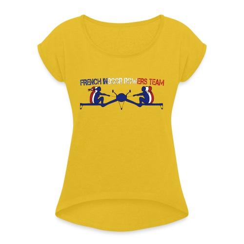 FIRT sport - T-shirt à manches retroussées Femme