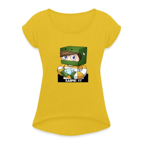Mochila SarpinYT - Camiseta con manga enrollada mujer