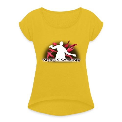 Multiplication Tee - Women's T-Shirt with rolled up sleeves