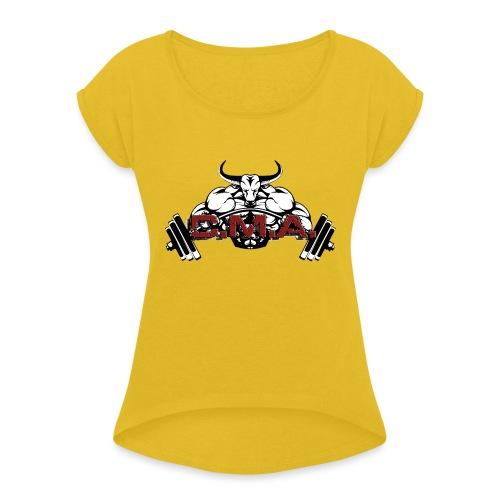Marque CMA - T-shirt à manches retroussées Femme