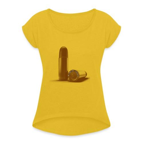 prm bastos - T-shirt à manches retroussées Femme
