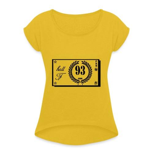 prm hall f - T-shirt à manches retroussées Femme