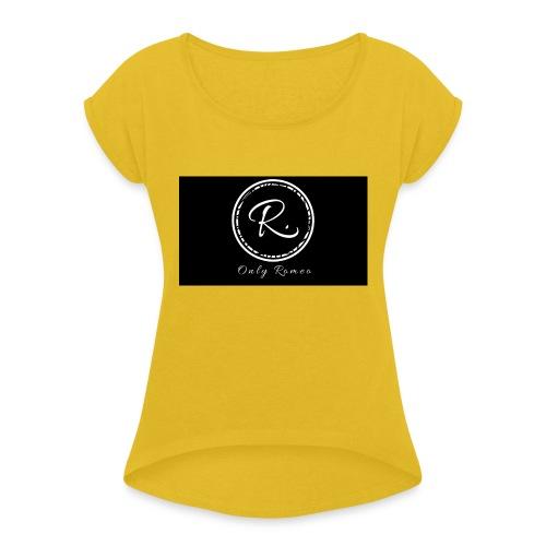 Big 1 - Frauen T-Shirt mit gerollten Ärmeln