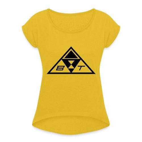 logo beatsux - Maglietta da donna con risvolti