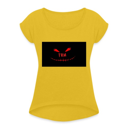 TherealMacey - Women's T-Shirt with rolled up sleeves