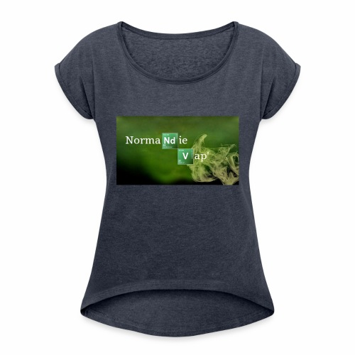 Normandie Vap' - T-shirt à manches retroussées Femme