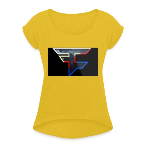 FAZEDREAM - Women's T-Shirt with rolled up sleeves