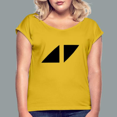 Avicci logo - Camiseta con manga enrollada mujer