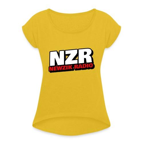 NZR - T-shirt à manches retroussées Femme