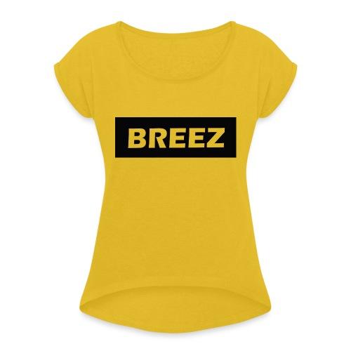 Breez Identity II - Dame T-shirt med rulleærmer