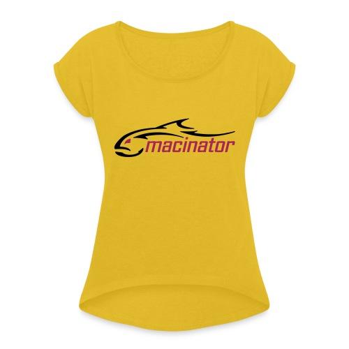 macinator 2020 - Maglietta da donna con risvolti