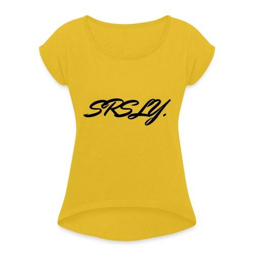 SRSLY - T-shirt à manches retroussées Femme