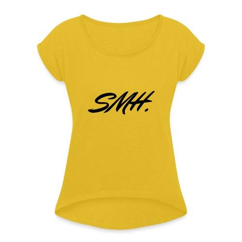SMH - T-shirt à manches retroussées Femme
