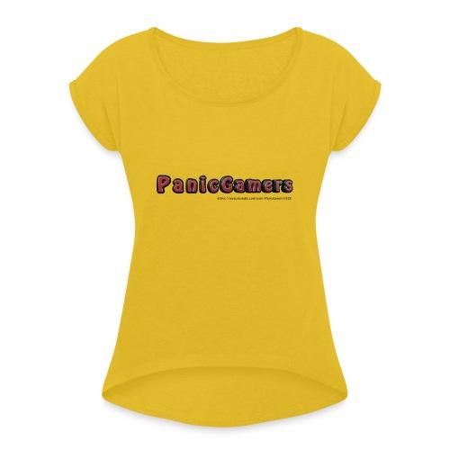 Cover PanicGamers - Maglietta da donna con risvolti