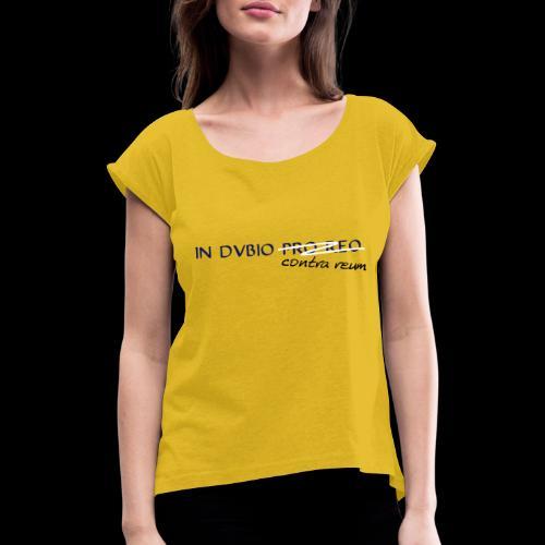 dubios - Frauen T-Shirt mit gerollten Ärmeln