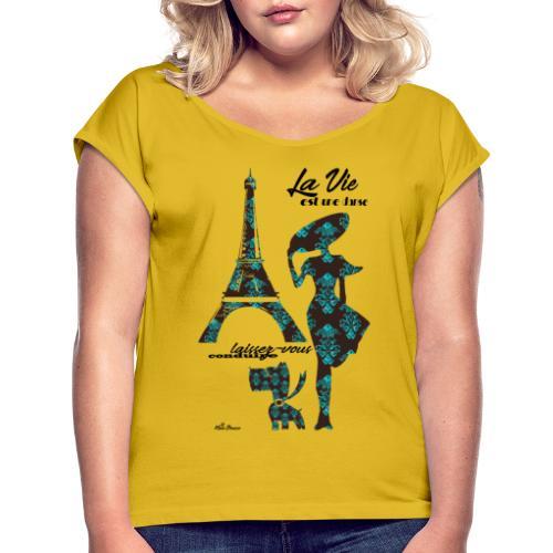 La Vie est une danse - Maglietta da donna con risvolti