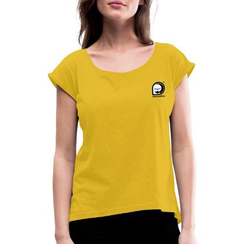 Ideareattiva Logotype - Maglietta da donna con risvolti