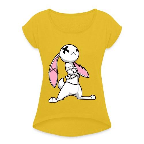 Conejo Pisical - Camiseta con manga enrollada mujer
