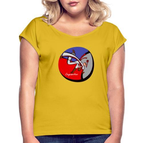 capoeira - Maglietta da donna con risvolti