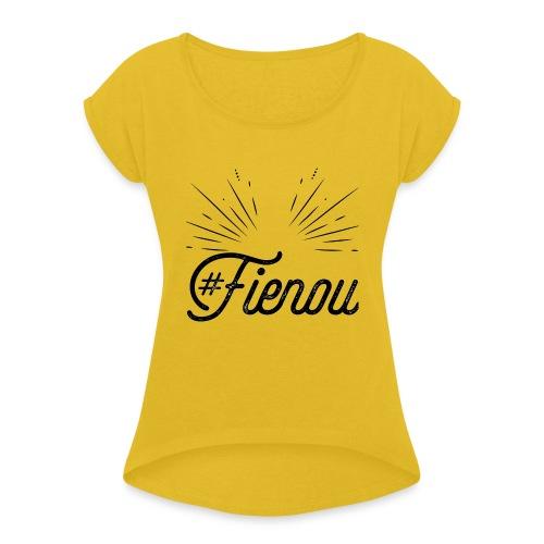 #Fienou - Maglietta da donna con risvolti
