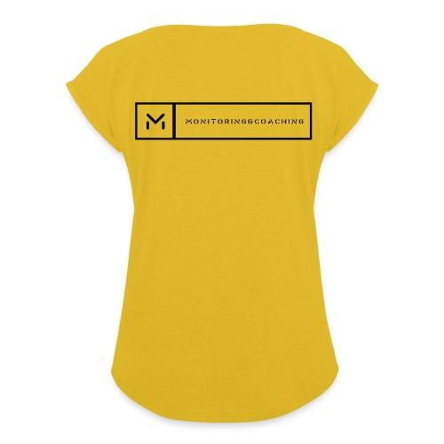 238736 - T-shirt à manches retroussées Femme