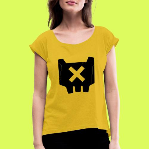 CBRCRUX Ø - Women's T-Shirt with rolled up sleeves